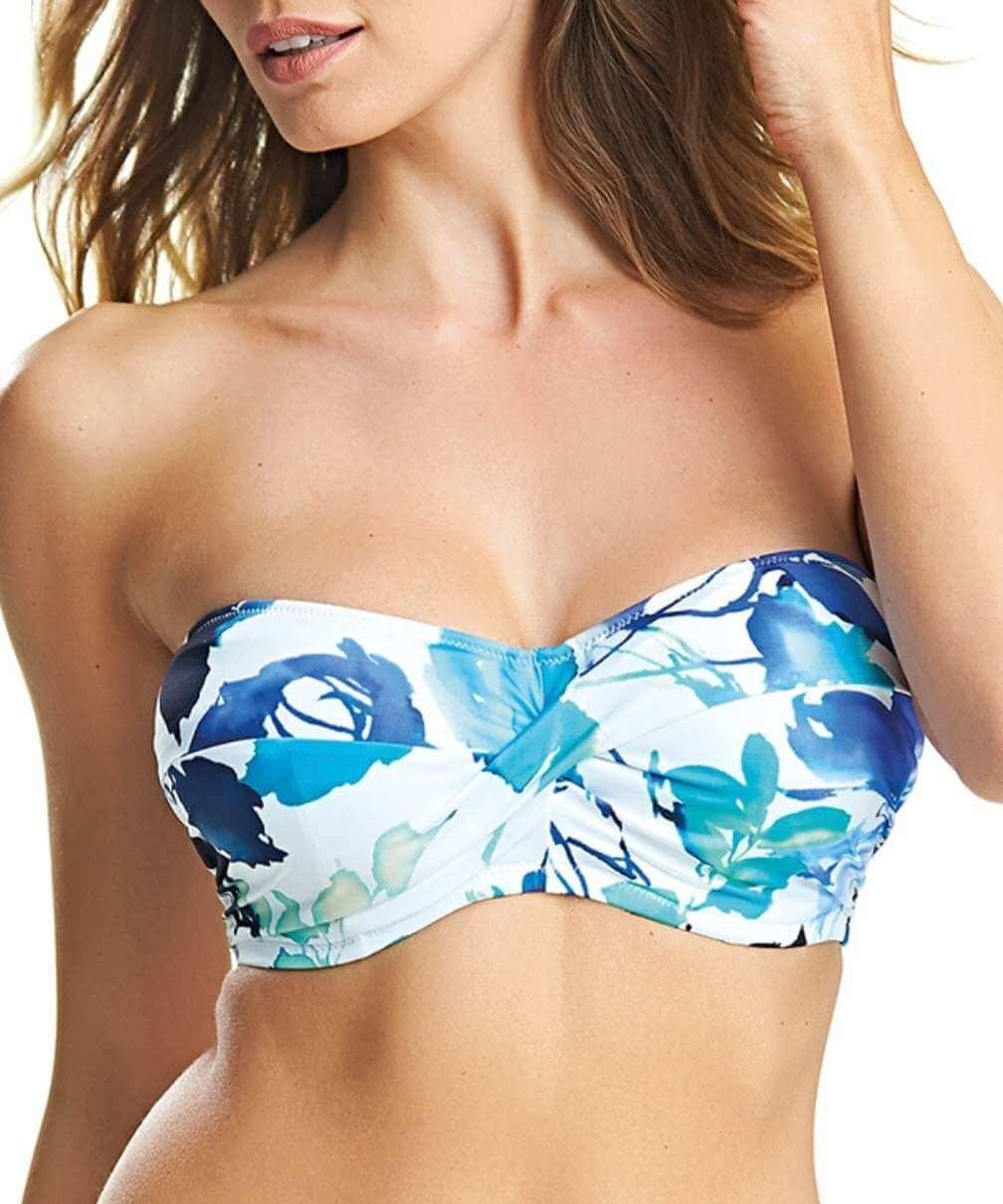 Top bikini bandeau Capri de Fantasie
